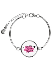 We'll be Forever Together Metallic Circle Bracelet thumbnail