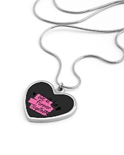 We'll be Forever Together Metallic Heart Necklace aos-necklace-heart-metallic-lifestyle-05