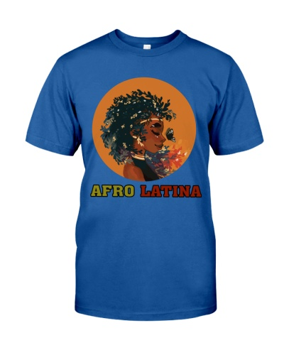 Afro Latina American African Girl