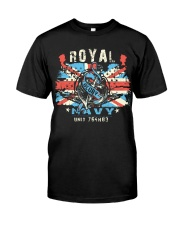 Royal Uk Navy Classic T-Shirt front