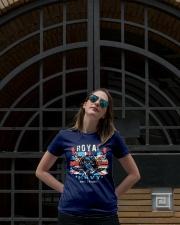 Royal Uk Navy Premium Fit Ladies Tee lifestyle-women-crewneck-front-1