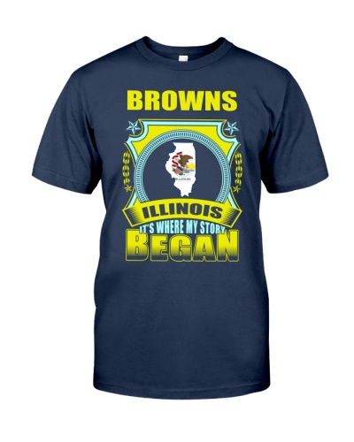 Browns-IL where story began Shirt