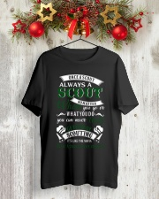 limited editi0n Classic T-Shirt lifestyle-holiday-crewneck-front-2