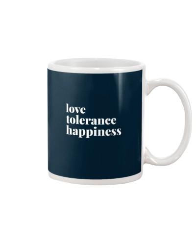 Love Tolerance Happiness