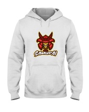 Skull Samurai Hooded Sweatshirt thumbnail