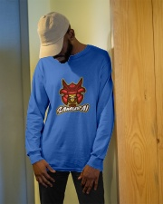 Skull Samurai Long Sleeve Tee apparel-long-sleeve-tee-lifestyle-front-13
