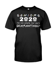 senior quarantined Classic T-Shirt front