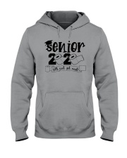 senior geting shit Hooded Sweatshirt thumbnail
