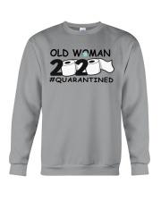 Old woman Crewneck Sweatshirt thumbnail