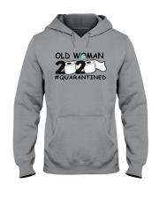Old woman Hooded Sweatshirt thumbnail