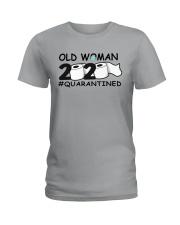 Old woman Ladies T-Shirt thumbnail