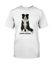 Border Collie Shirts Classic T-Shirt front