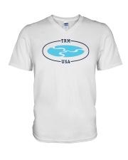 TRM Logo Apparel V-Neck T-Shirt thumbnail
