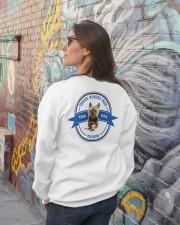 Ti Has Your Back Crewneck Sweatshirt lifestyle-unisex-sweatshirt-back-2