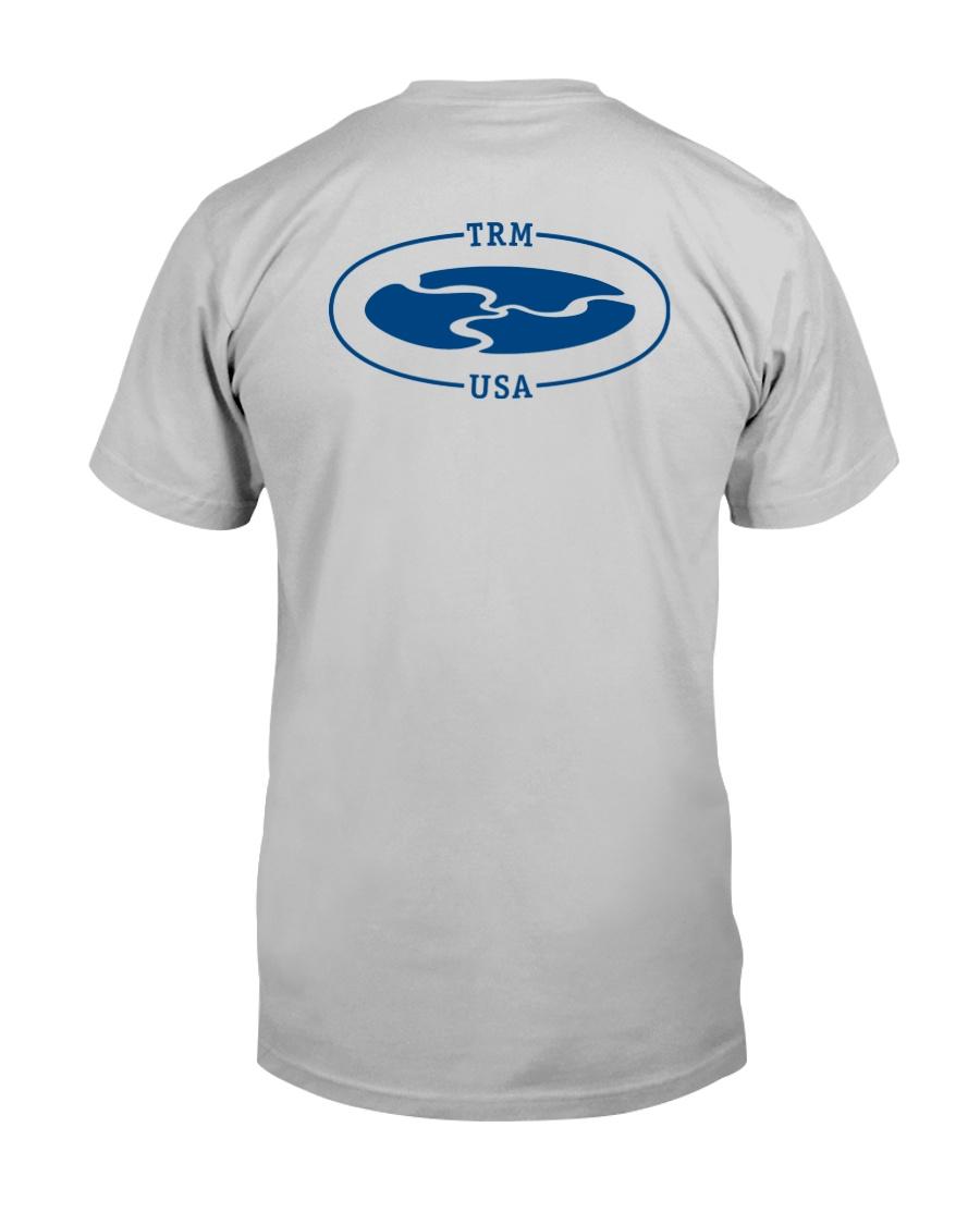 TRM Back Printed Logo Apparel Classic T-Shirt