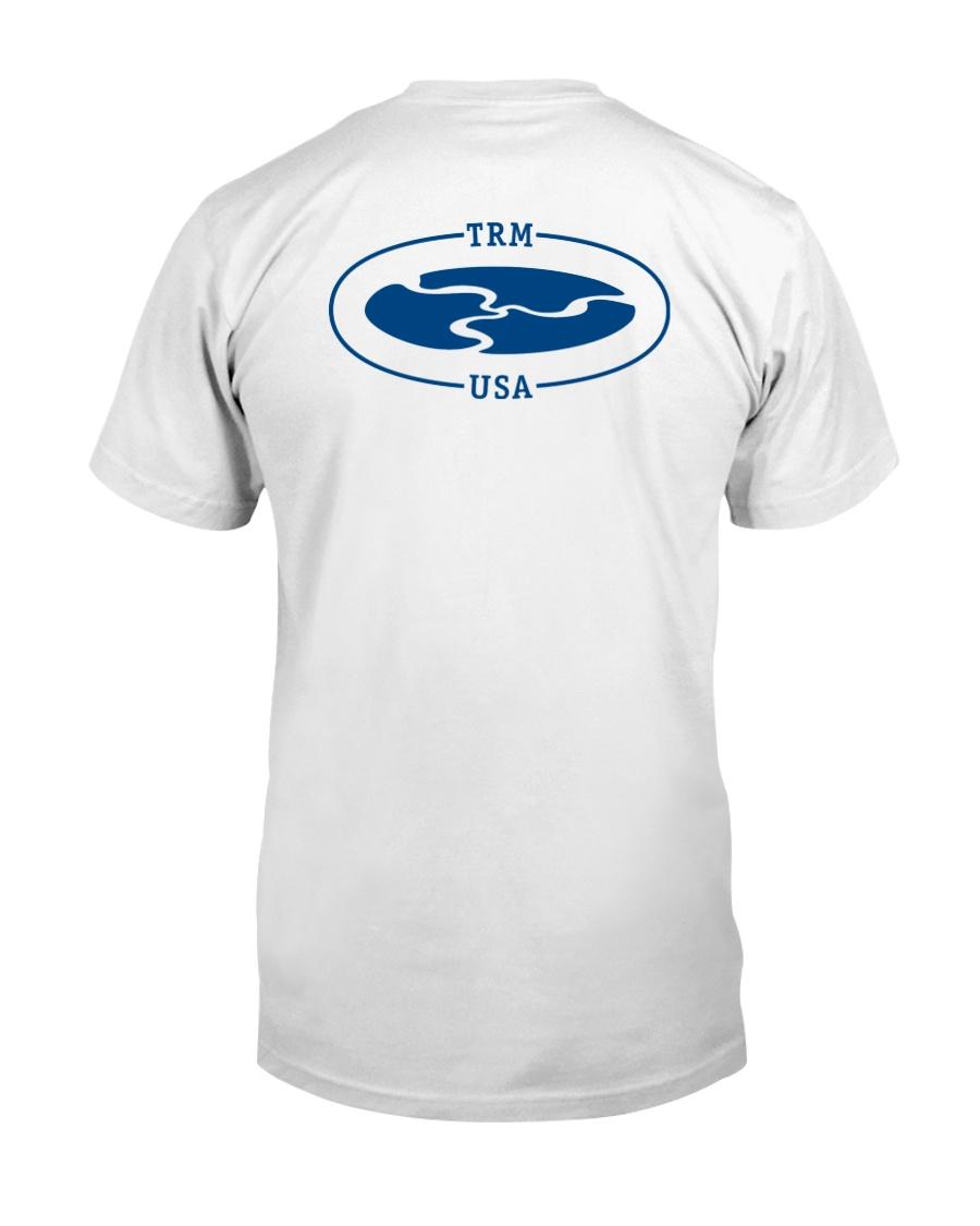 TRM Back Printed Logo Apparel Premium Fit Mens Tee