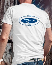 TRM Back Printed Logo Apparel Premium Fit Mens Tee lifestyle-mens-crewneck-back-2