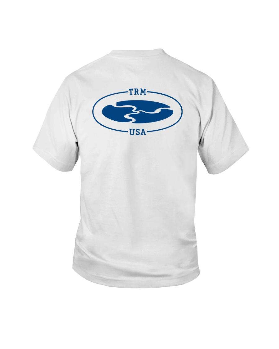 TRM Back Printed Logo Apparel Youth T-Shirt