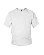 TRM Back Printed Logo Apparel Youth T-Shirt front