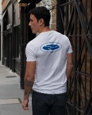 TRM Back Printed Logo Apparel V-Neck T-Shirt lifestyle-mens-vneck-back-1