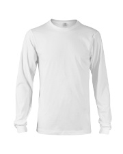TRM Back Printed Logo Apparel Long Sleeve Tee front