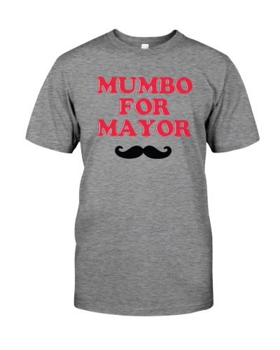 mumbo for mayor t shirt