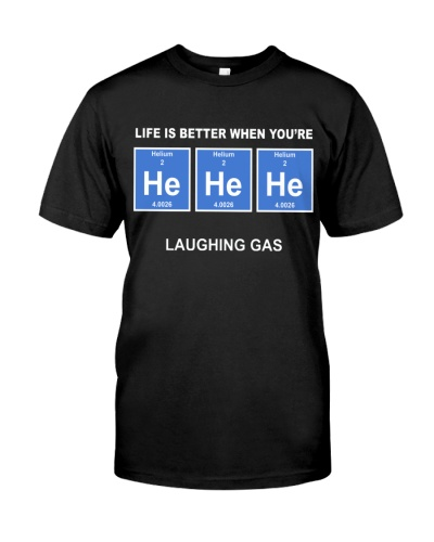 Chemistry Lauging Gas