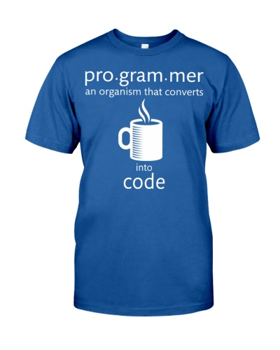 Programmer an organism that converts into code