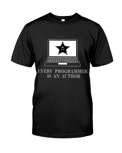 Programmer is an author