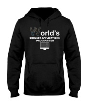 world's coolest applications programmer Hooded Sweatshirt thumbnail
