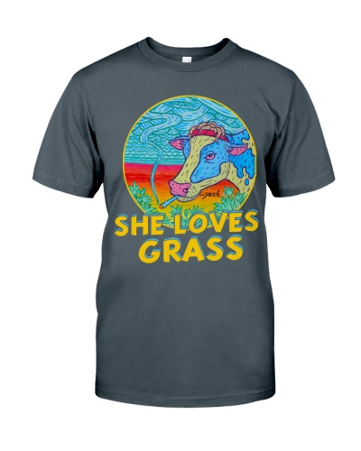 WEED -she loves grass