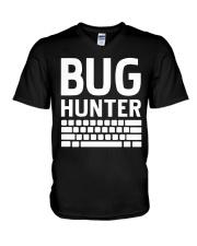 Bug Hunter V-Neck T-Shirt thumbnail