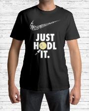 Just Hodl it Classic T-Shirt lifestyle-mens-crewneck-front-1