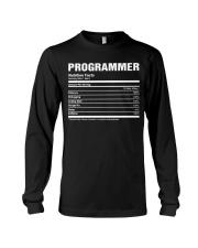 Programmer nutrition Long Sleeve Tee thumbnail