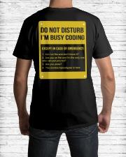 Do not disturb Classic T-Shirt lifestyle-mens-crewneck-back-1