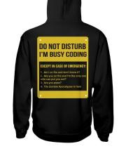 Do not disturb Hooded Sweatshirt thumbnail