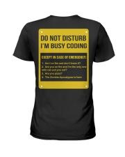 Do not disturb Ladies T-Shirt thumbnail