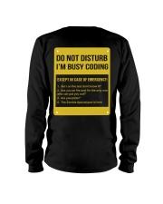 Do not disturb Long Sleeve Tee thumbnail