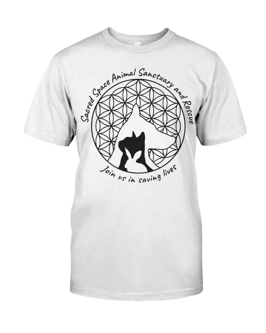 Sacred Space Animal Sanctuary Tee Shirts and Tops Classic T-Shirt