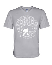 Sacred Space Animal Sanctuary Tee Shirts and Tops V-Neck T-Shirt thumbnail