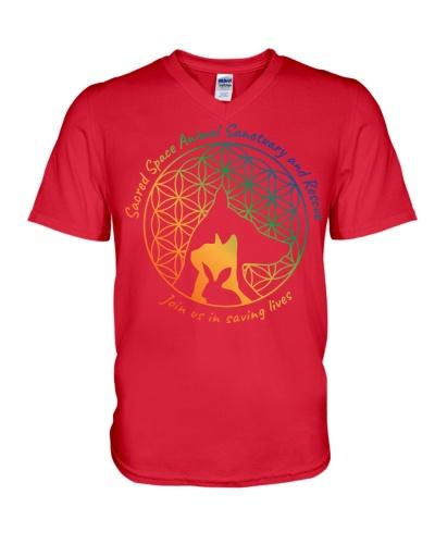 Sacred Space Animal Sanctuary Tee Shirts and Tops