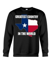 GREATEST COUNTRY IN THE WORLD Crewneck Sweatshirt thumbnail