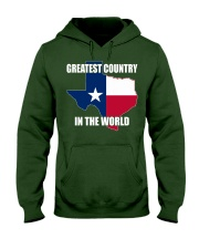GREATEST COUNTRY IN THE WORLD Hooded Sweatshirt thumbnail