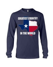 GREATEST COUNTRY IN THE WORLD Long Sleeve Tee thumbnail
