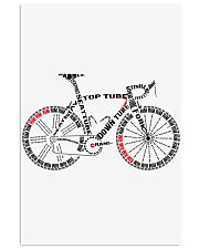BICYCLE ANATOMY 24x36 Poster front