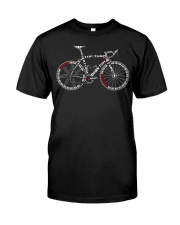 BICYCLE ANATOMY 2 Classic T-Shirt front