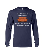 HAPPINESS IS WATCHING FRIENDS AGAIN AND AGAIN Long Sleeve Tee thumbnail