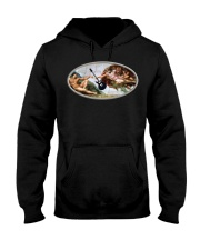 God Gave Rock And Roll To You Funny T-shirt Hooded Sweatshirt thumbnail