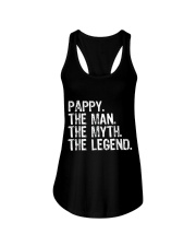 Mens Pappy The Man The Myth The Legend Daddy Grand Ladies Flowy Tank thumbnail