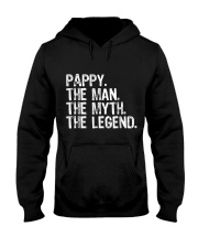 Mens Pappy The Man The Myth The Legend Daddy Grand Hooded Sweatshirt thumbnail
